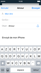 Apple iPhone 5 iOS 8 - E-mail - envoyer un e-mail - Étape 6