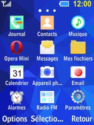 Samsung B550H Xcover 550 - Internet - Navigation sur Internet - Étape 2