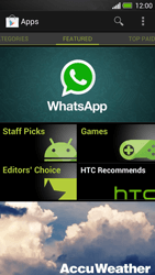 HTC One - Applications - Setting up the application store - Step 16