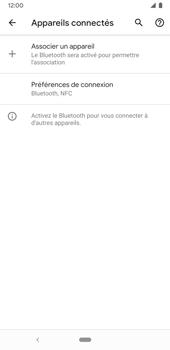 Google Pixel 3a - Internet et connexion - Connexion avec un équipement multimédia via Bluetooth - Étape 6