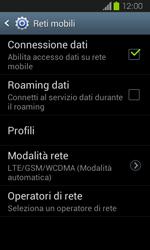 Samsung Galaxy Express - Rete - Selezione manuale della rete - Fase 8