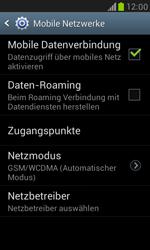 Samsung Galaxy S III Mini - Netzwerk - Manuelle Netzwerkwahl - Schritt 6