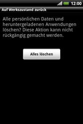 HTC Explorer - Fehlerbehebung - Handy zurücksetzen - 9 / 10