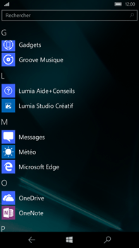 Microsoft Lumia 950 XL - MMS - envoi d'images - Étape 2