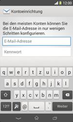 Sony Xperia E1 - E-Mail - Konto einrichten - Schritt 5