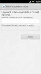 Sony Xperia U - E-mail - Configurazione manuale - Fase 15