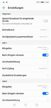Huawei P20 Lite - Anrufe - Rufumleitungen setzen und löschen - Schritt 5