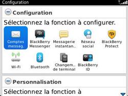 BlackBerry 9320 Curve - E-mail - Configuration manuelle - Étape 4