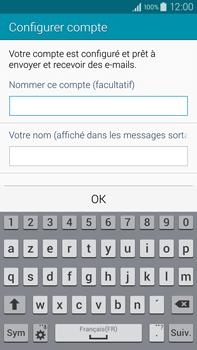 Samsung Galaxy Note 4 - E-mail - configuration manuelle - Étape 18