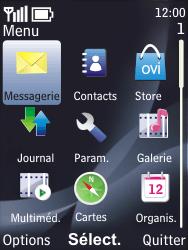 Nokia 6700 classic - SMS - configuration manuelle - Étape 3