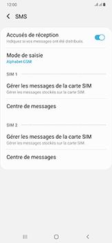 Samsung Galaxy A50 - SMS - configuration manuelle - Étape 9