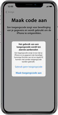 Apple iphone-xs-max-met-ios-13-model-a1921 - Instellingen aanpassen - Activeer het toestel en herstel jouw iCloud-data - Stap 14