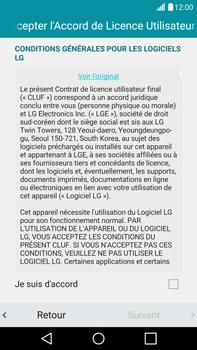 LG G4 - Premiers pas - Créer un compte - Étape 13