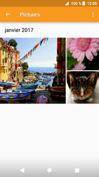Sony Xperia XZ1 - Photos, vidéos, musique - Envoyer une photo via Bluetooth - Étape 9
