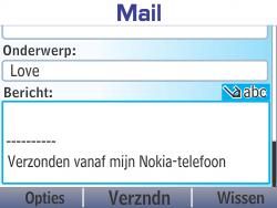 Nokia Asha 210 - E-mail - E-mails verzenden - Stap 11