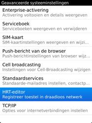 BlackBerry 9810 Torch - Instellingen - ontvangen via SMS - Stap 6