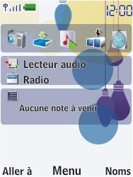 Nokia 7310 supernova - SMS - Configuration manuelle - Étape 1