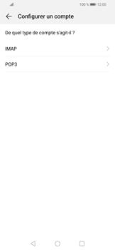 Huawei P Smart (2019) - E-mails - Ajouter ou modifier un compte e-mail - Étape 7
