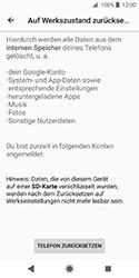 Sony Xperia XZ2 Compact - Fehlerbehebung - Handy zurücksetzen - 9 / 12