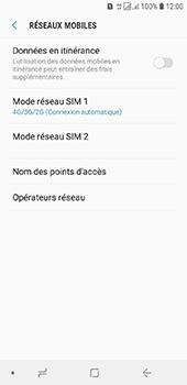 Samsung Galaxy J6 - Internet et connexion - Activer la 4G - Étape 8
