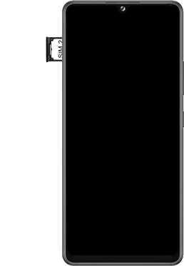 Samsung Galaxy A42 5G - Premiers pas - Insérer la carte SIM - Étape 6