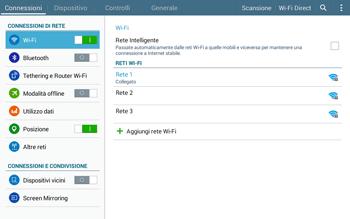 Samsung T535 Galaxy Tab 4 10.1 - WiFi - Configurazione WiFi - Fase 7
