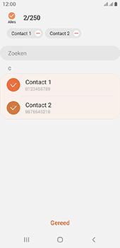 Samsung galaxy-a6-sm-a600fn-ds-android-pie - Contacten en data - Contacten kopiëren van toestel naar SIM - Stap 10