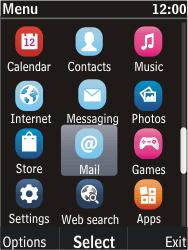 Nokia C2-05 - E-mail - Manual configuration - Step 3