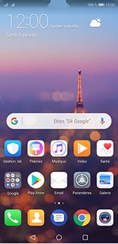 Huawei P20 Pro - Prise en main - Installation de widgets et d
