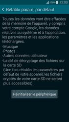 Samsung G850F Galaxy Alpha - Appareil - Réinitialisation de la configuration d