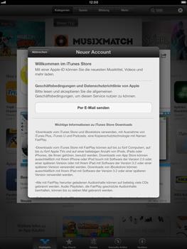 Apple iPad Retina - Apps - Einrichten des App Stores - Schritt 9