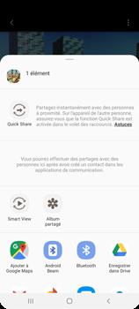 Samsung Galaxy A21s - Photos, vidéos, musique - Créer une vidéo - Étape 18