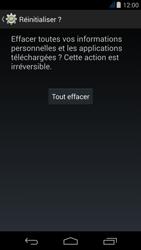 Acer Liquid Jade - Téléphone mobile - réinitialisation de la configuration d