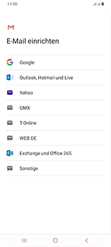 Samsung Galaxy A70 - E-Mail - 032a. Email wizard - Gmail - Schritt 8