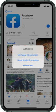 Apple iPhone XS - iOS 13 - Apps - Einrichten des App Stores - Schritt 8