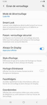 Samsung Galaxy A80 - Sécuriser votre mobile - Activer le code de verrouillage - Étape 13