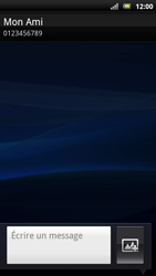 Sony Xperia Neo - MMS - Envoi d