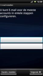 Sony Xperia Arc - E-mail - Handmatig instellen - Stap 5