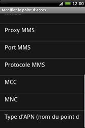 HTC A6262 Hero - MMS - Configuration manuelle - Étape 10