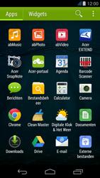 Acer Liquid Z500 - E-mail - e-mail instellen: IMAP (aanbevolen) - Stap 3