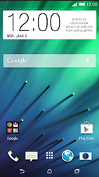 HTC Desire 816 - E-mail - Configuration manuelle - Étape 1