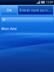 Sony Ericsson Xperia X10 Mini - MMS - envoi d
