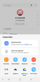 Samsung galaxy-a8-2018-sm-a530f-android-oreo - Contacten en data - Contacten overzetten via Bluetooth - Stap 9