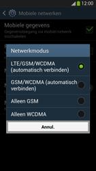 Samsung I9505 Galaxy S IV LTE - Netwerk - Wijzig netwerkmodus - Stap 7