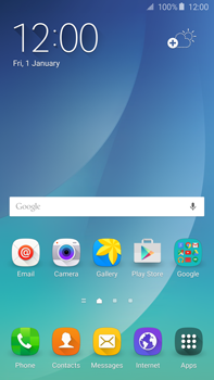 Samsung N920 Galaxy Note 5 - E-mail - Manual configuration (gmail) - Step 3
