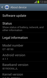 Samsung Galaxy S III Mini - Software - Installing software updates - Step 10