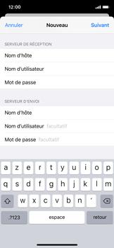 Apple iPhone X - iOS 13 - E-mail - Configuration manuelle - Étape 15