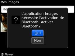 BlackBerry 8520 - Photos, vidéos, musique - Envoyer une photo via Bluetooth - Étape 8