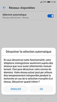Huawei P10 Plus - Réseau - Sélection manuelle du réseau - Étape 7