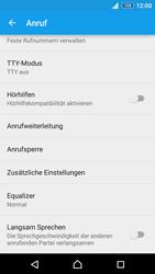 Sony E6553 Xperia Z3+ - Anrufe - Rufumleitungen setzen und löschen - Schritt 5